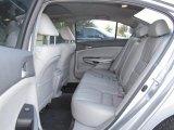 2009 Honda Accord EX-L V6 Sedan Gray Interior