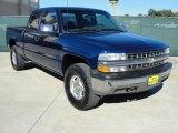 2002 Indigo Blue Metallic Chevrolet Silverado 1500 LS Extended Cab #39325840