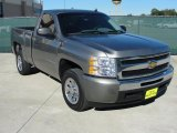 2009 Graystone Metallic Chevrolet Silverado 1500 LS Regular Cab #39325847