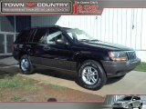 2002 Black Jeep Grand Cherokee Laredo #39388336