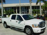 2006 Bright White Dodge Ram 1500 Laramie Mega Cab #39387884