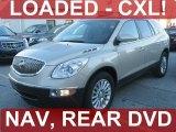 2008 Gold Mist Metallic Buick Enclave CXL AWD #39387909