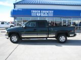 2002 Forest Green Metallic Chevrolet Silverado 1500 LS Extended Cab 4x4 #39388383