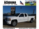 2009 Summit White Chevrolet Silverado 1500 LT Extended Cab #39388119