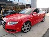2008 Brilliant Red Audi A4 2.0T quattro Sedan #39388148