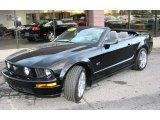 2007 Black Ford Mustang GT Premium Convertible #39421182