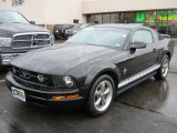 2006 Black Ford Mustang V6 Premium Coupe #39421498