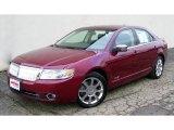 2007 Vivid Red Metallic Lincoln MKZ Sedan #39421248