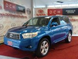 2008 Blue Streak Metallic Toyota Highlander Limited 4WD #39421495