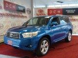 2008 Blue Streak Metallic Toyota Highlander Limited 4WD #39421495