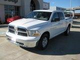 2011 Bright White Dodge Ram 1500 SLT Crew Cab 4x4 #39431223