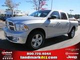 2011 Bright Silver Metallic Dodge Ram 1500 Big Horn Crew Cab #39430946