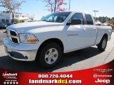 2011 Bright White Dodge Ram 1500 SLT Quad Cab #39430947