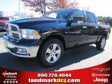 2011 Hunter Green Pearl Dodge Ram 1500 Big Horn Crew Cab #39430949