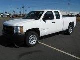2011 Summit White Chevrolet Silverado 1500 Extended Cab #39431253