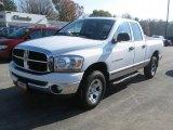 2006 Bright White Dodge Ram 1500 SLT Quad Cab 4x4 #39431481