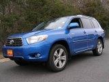 2008 Blue Streak Metallic Toyota Highlander Sport 4WD #3938745