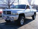 2001 Bright Silver Metallic Dodge Ram 1500 SLT Club Cab 4x4 #39430739