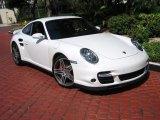 2007 Carrara White Porsche 911 Turbo Coupe #39431280