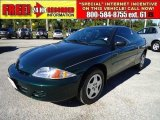2002 Forest Green Metallic Chevrolet Cavalier LS Coupe #39431574