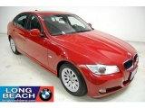 2009 Crimson Red BMW 3 Series 328i Sedan #39431051
