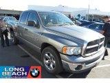 2005 Mineral Gray Metallic Dodge Ram 1500 SLT Quad Cab #39431053