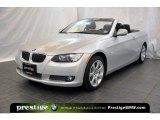 2010 Titanium Silver Metallic BMW 3 Series 335i Convertible #39430786