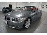 2008 Space Grey Metallic BMW 3 Series 335i Convertible #39430822