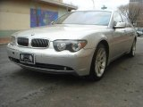 2003 Titanium Silver Metallic BMW 7 Series 745Li Sedan #3940031