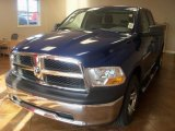 2011 Deep Water Blue Pearl Dodge Ram 1500 ST Quad Cab 4x4 #39430842