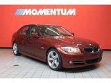 2011 Vermillion Red Metallic BMW 3 Series 335i Sedan #39431374