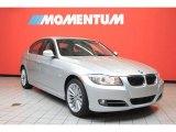 2011 Titanium Silver Metallic BMW 3 Series 335i Sedan #39431376