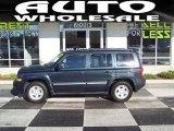 2007 Steel Blue Metallic Jeep Patriot Sport #39431200