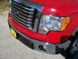 2010 Vermillion Red Ford F150 XLT SuperCrew #39430894