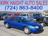2003 Arrival Blue Metallic Chevrolet Cavalier Coupe #39430904