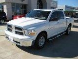 2011 Bright White Dodge Ram 1500 SLT Crew Cab #39431221
