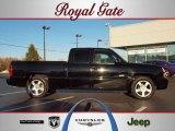 2003 Black Chevrolet Silverado 1500 SS Extended Cab AWD #39502528