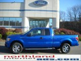 2010 Blue Flame Metallic Ford F150 STX SuperCab 4x4 #39502548