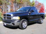 2004 Black Dodge Ram 1500 ST Regular Cab #39503169