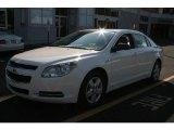 2008 White Chevrolet Malibu LS Sedan #3933726