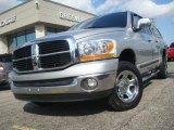 2006 Bright Silver Metallic Dodge Ram 1500 SLT Quad Cab 4x4 #39502579
