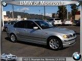 2005 Titanium Silver Metallic BMW 3 Series 325i Sedan #39502855