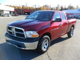 2011 Deep Cherry Red Crystal Pearl Dodge Ram 1500 ST Quad Cab 4x4 #39503252