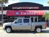 2008 Graystone Metallic Chevrolet Silverado 1500 LS Crew Cab #39502640