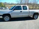 2006 Silver Birch Metallic Chevrolet Silverado 1500 LS Extended Cab 4x4 #39503274