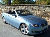 2007 Atlantic Blue Metallic BMW 3 Series 335i Convertible #39502660