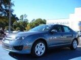 2011 Steel Blue Metallic Ford Fusion SE #39502670