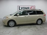 2011 Sandy Beach Metallic Toyota Sienna Limited #39502378