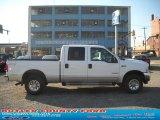 2003 Oxford White Ford F250 Super Duty XLT Crew Cab 4x4 #39502751
