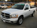 2006 Bright White Dodge Ram 1500 SLT Regular Cab #39503041